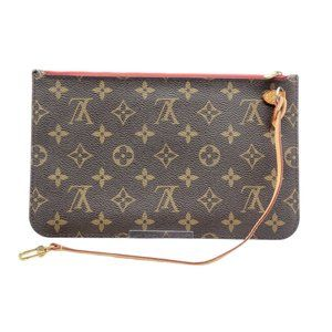 Authentic Louis Vuitton Wristlet / Clutch Monogram